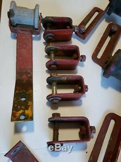 Vintage Gator Boat Trailer Parts Cradle Yoke Keel Roller Other Hardware