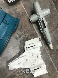 Vintage Gi Joe Toy Lot Space Boat Plane 1980's Vehicles Hasbro Parts #3