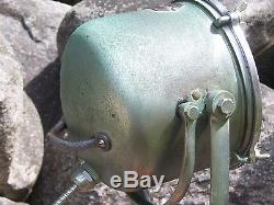 Vintage Half Mile Ray Marine Spotlight Strobe Antique Boat