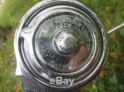 Vintage Half Mile Ray Spot Adjust Portable Light Chris Craft Boat Marine Chrome