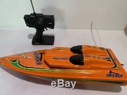Vintage Hammer AquaCraft RC Boat Needs Repair Or For Parts