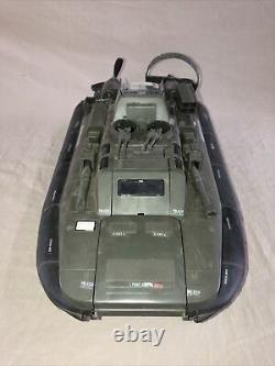 Vintage Hasbro 1984 GI JOE KILLER WHALE Hovercraft Boat Vehicle Many Parts