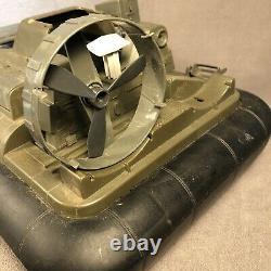 Vintage Hasbro 1984 GI JOE KILLER WHALE Hovercraft Boat Vehicle Parts or Repair