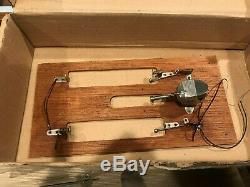 Vintage Japan ITO KMK Fleet Line Toy Wood Boat Parts NO RESERVE