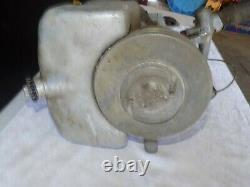 Vintage Johnson Model J Boat Motor Untested Sold As Parts or Repair