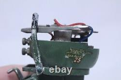 Vintage Johnson Sea Horse 25 Toy Outboard Boat Motor For Parts Or Repair