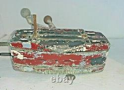 Vintage Johnson Ship Master 4 lever Boat Motor Control Parts / Repair / Restore