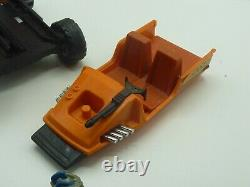 Vintage Kenner M. A. S. K. Gator Jeep withBoat Launcher/Helmet/Cannon Parts B2