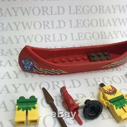 Vintage LEGO Spare Parts Classic Pirates Minifigs Island Islanders Exotic Boat