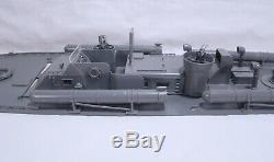 Vintage Lindberg PT 109 US Navy Torpedo Boat 1/32 Scale Model For Parts