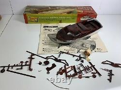 Vintage Lindbergh Chris Craft Plastic Boat Model Kit Parts