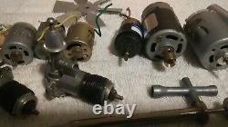 Vintage Lot Of 15 R/c Airplane And Boat Motors / Parts #14