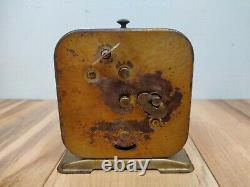 Vintage Lux Show Boat Alarm Clock Broken, for Parts or Repair