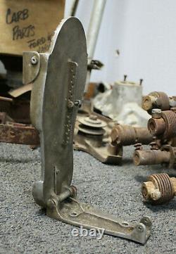 Vintage MOON Aluminum Gas PEDAL Hot Rod BONNEVILLE DRAG RAcing Race Car old SCTA