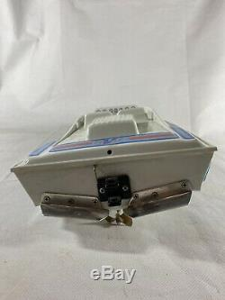 Vintage MRP R/C Boat Kit Sport Vee Model Racing Untested Parts Electric Motor