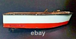Vintage Made in Japan C Battery Wooden Toy Speed Boat Parts/Repair RAY ROHR