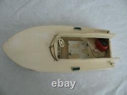 Vintage Made in Japan Wood Speed Boat Parts / Resstore