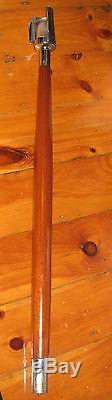 Vintage Mahogany Stern Pole with Mast Light Chris Craft Boat Lamp Flag Pole