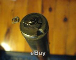 Vintage Mahogany Stern Pole with Mast Light Shepherd RARE! Boat Lamp Flag Pole