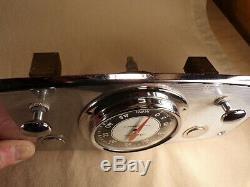 Vintage Marine Boat Gauge Dash Panel