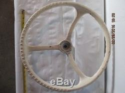Vintage Marine RARE Buck Algonquin Steering Wheel Chris Craft, Wooden Boat
