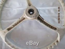 Vintage Marine RARE Buck Algonquin Steering Wheel Chris Craft, Wooden Boat