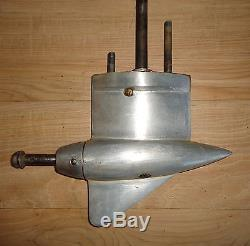Vintage Mercury H outboard racing lower unit
