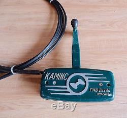 Vintage Mercury Kaminc Kiekhaefer Controller remote control box with 12' cables