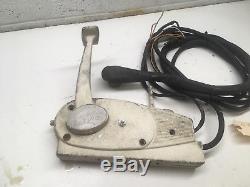 Vintage Mercury Kiekhaefer Quicksilver Outboard Throttle Control