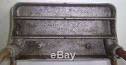 Vintage Mercury Outboard Motor Stand Cast Aluminum & Steel Vollrath Plate