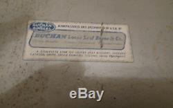 Vintage Mercury Outboards Boat Engine Dealer Parts Service Manual Holder Sign