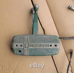 Vintage Mercury Quicksilver Kiekhaefer Outboard Motor Controls'50's Mark 25 30