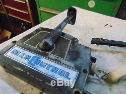 Vintage Mercury Outboard Control Merc Control Box Assembly