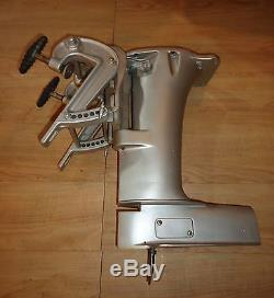 Vintage Mercury outboard racing Q Tower with steering pivot & stern brackets