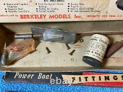 Vintage Model Boat Fittings /Parts/ Accessories Lot