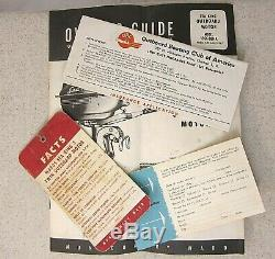 Vintage Montgomery Ward Sea King Outboard Boat Motor 5 h. P Owner & Parts Manual