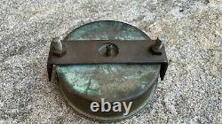 Vintage Muskegon Outboard Specialties Wood Boat Parts Speedometer Gauge