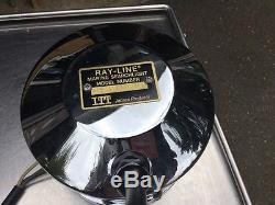 Vintage NOS Jabsco Marine Ray-Line Searchlight Spot Light #43630 12V