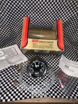 Vintage NOS Sun Boost Gauge Kit CP 8055 Gasser Car Boat Hot Rat Rod