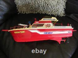 Vintage Nikko Boat Nikko Rescue Cruiser Boat Spares Reapirs Parts Etc
