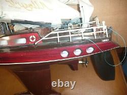 Vintage Nikko RC Radio Control Boat Ship for parts