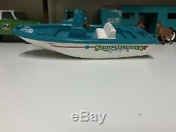 Vintage Nylint Surf Runner Boat For Trailer 12 Parts Restore
