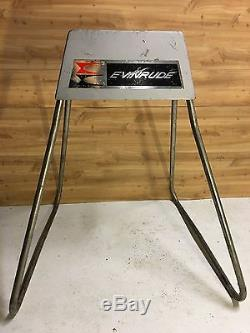 Vintage OMC Evinrude Outboard Motor Mount Stand for antique outboard