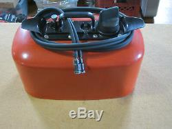 Vintage OMC Outboard Gas Can Fuel Tank 4 Gallon Total Rebuild! Gorgeous! Works