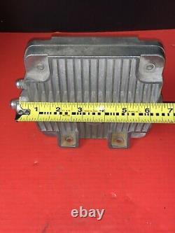 Vintage Oberg 600 Tattle Tale Remote Oil Filter NHRA Gasser Car Boat Hot Rat Rod
