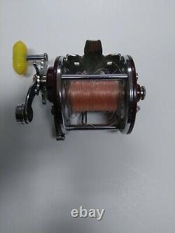 Vintage Penn Peer Model 209 Saltwater Boat Fishing Reel NOT WORKING. For Parts