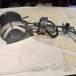Vintage Perko Solar-Ray Marine Searchlight