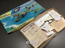 Vintage Playfix Kits Military Flying Boat Kit, Intact Parts, 1/72 NIB/Un-built