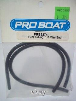 Vintage Pro Boat Part #prb2274 Fuel Tubing 18 Miss Bud Nos Rc Boat Parts