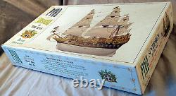 Vintage Pyro Sovereign Of The Seas Model Kit small parts bags still sealed, 1966